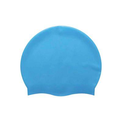 72b3fd8f9 Touca de Natação Silicone - Azul - lojamor