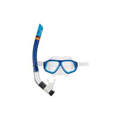 6beeafd04 Máscara de Mergulho e Snorkel Juvenil - Azul - lojamor