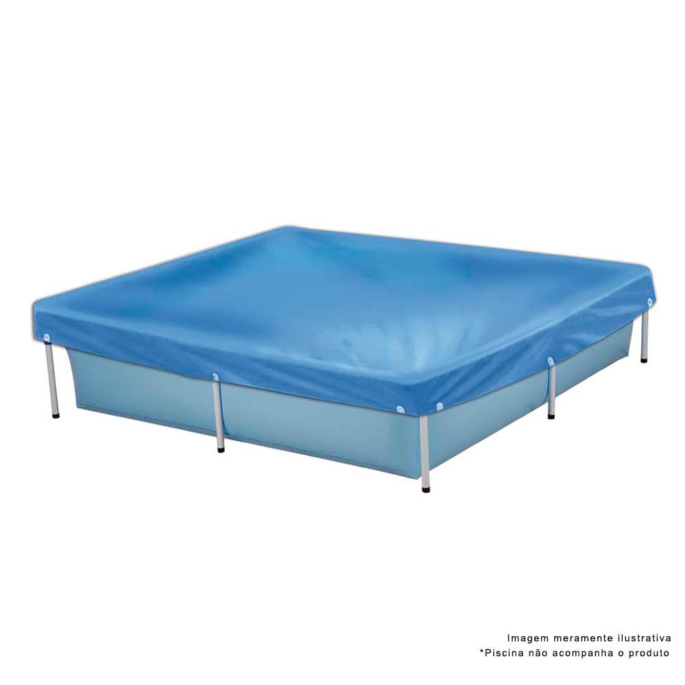Capa para piscina infantil litros lojamor for Piscina 500 litros