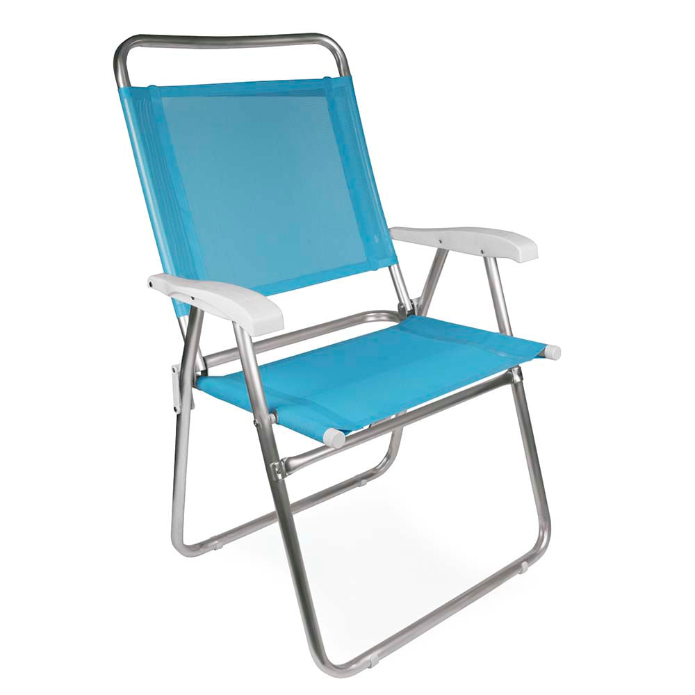 Cadeira Master Plus Fashion Alum Nio Azul Lojamor -> Cadeiras Acrilico Azul Turquesa