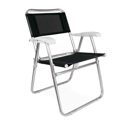 Cadeira-Master-Aluminio-Preta