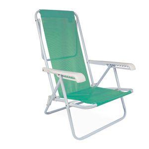 Cadeira-Reclinavel-8-Posicoes-Verde