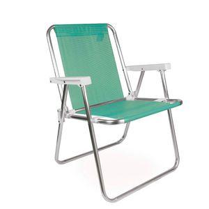 Cadeira-Alta-Aluminio-Tela-Sannet-Verde-Maca