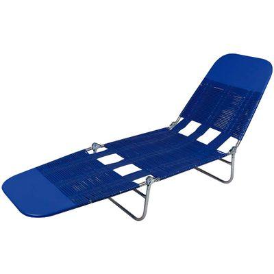 Cadeira-Espreguicadeira-Pvc-Azul