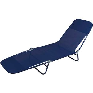 Cadeira-Espreguicadeira-Textilene-Azul