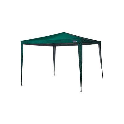 Gazebo-3m-x-3m-Poliester-Oxford-Verde-Com-Silver-Coating