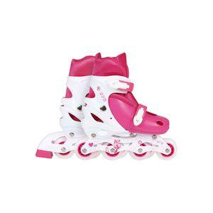 Roller-Infantil-Rosa-Tamanho-M-35-38