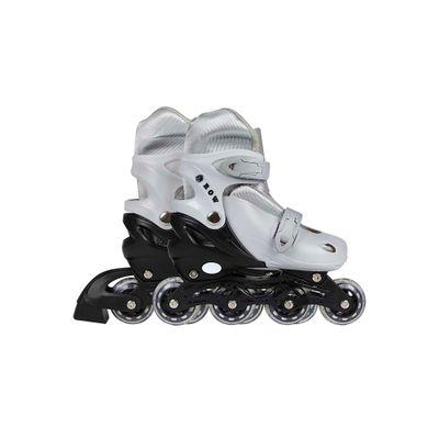 Roller-Infantil-Cinza-Tamanho-M-35-38