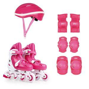 484c89b33 Kit Roller Rosa Tamanho M 34-37 (Roller