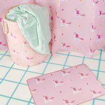 004315-Tapete-Unicornio-004314-Cortina-Para-Box-Unicornio-004316-Cesto-Multiuso-Unicornio-Amb