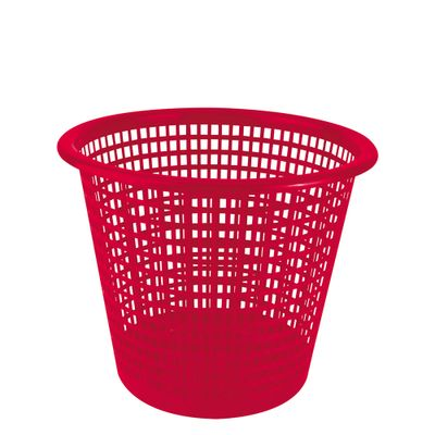 30060184-Lixeira-Plastica-Vazada-5l-Vermelha