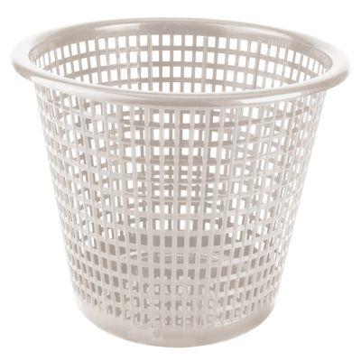 30060203-Lixeira-Plastica-Vazada-10l-Branco-Antigo