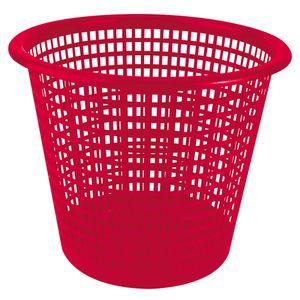 30060204-Lixeira-Plastica-Vazada-10l-Vermelha